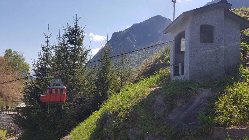 Miniature du téléphérique Riddes-Isérable au Swiss Vapeur Parc
