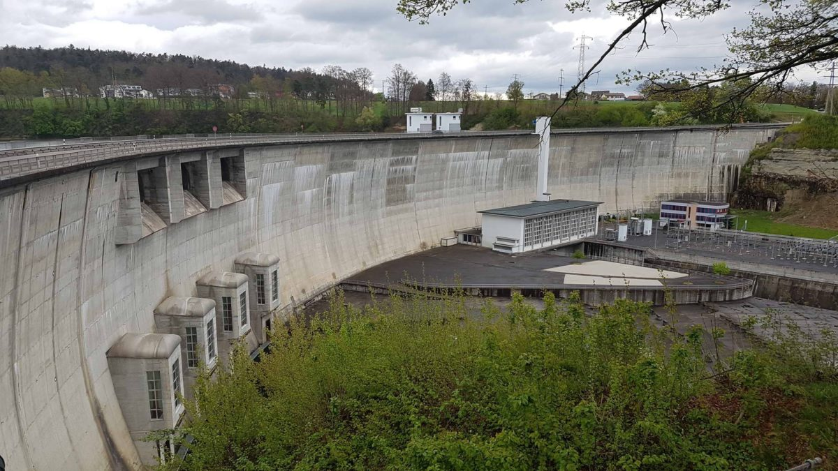 le barrage de Schiffenen