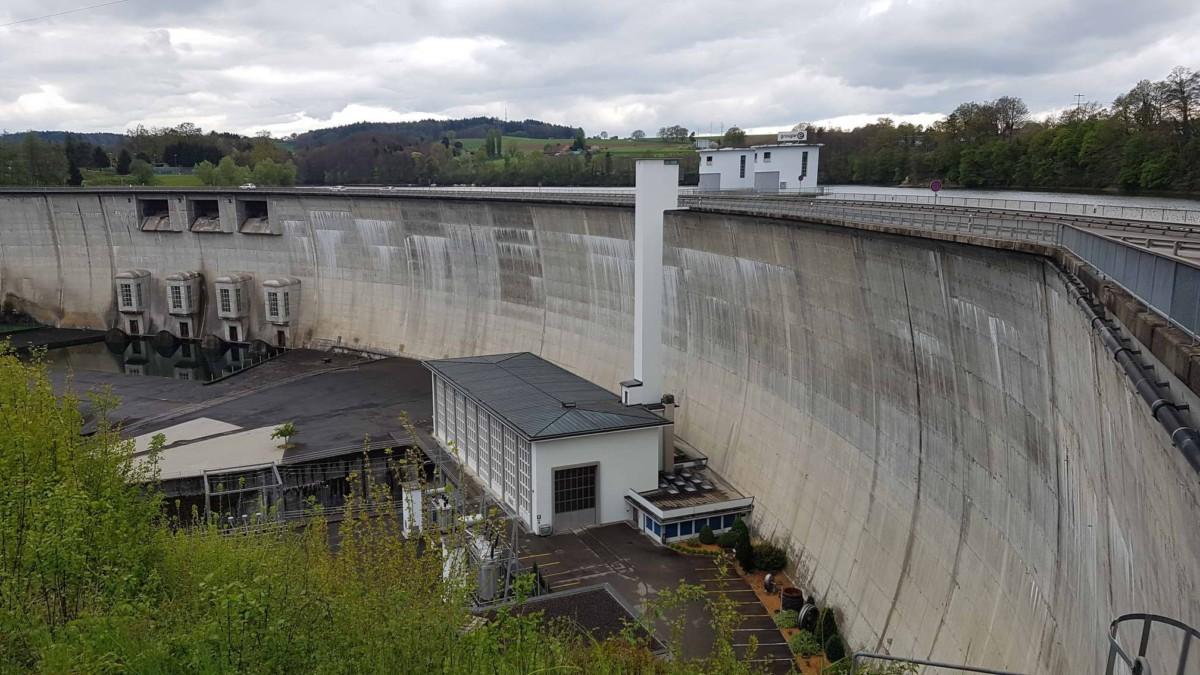 Le barrage de Schieffenen