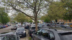 Parking au Nord-Est de la vieille ville de Morat.