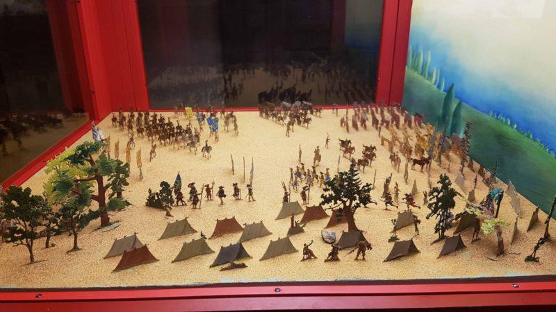 le musée suisse de la figurine historique, l'un des 4 musées militaires de Morges