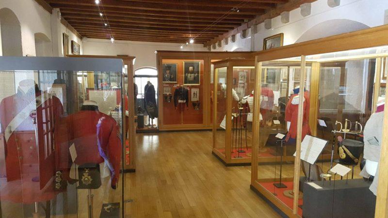 Le musée militaire vaudois, l'un des 4 musées militaires de Morges