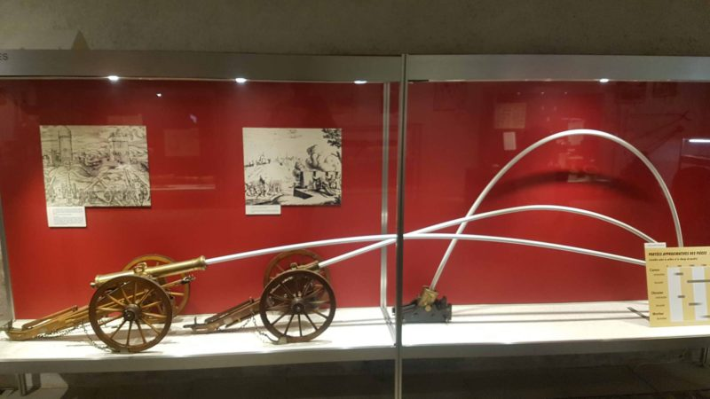 le musée de l'artillerie, l'un des 4 musées militaires de Morges