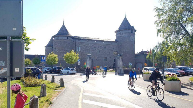 Le château de Morges hébergeant les musées militaires de Morges