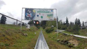 Parcours de luge de la Vue des Alpes- C'est une des pistes de luge de Suisse Romande