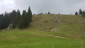 Tête de Ran proche de la piste de luge d'été à la Vue des Alpes