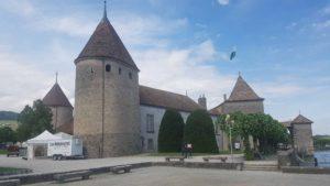Le château de Rolle.