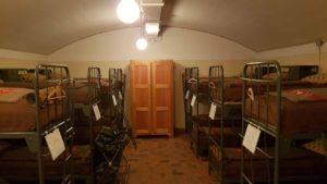 Les dortoirs de l'infirmerie du fort cindey