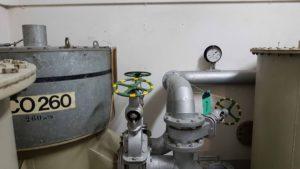La chambre des filtres du fort cindey