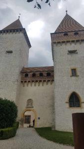 Les deux tours du château de la Sarraz
