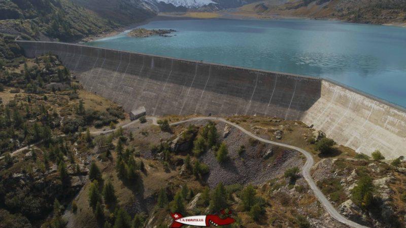 Le barrage de Salanfe