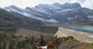 barrage de Salanfe - hydroélectricité en suisse romande