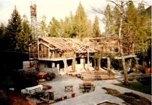 construction of the Marecottes zoo and pool restaurant