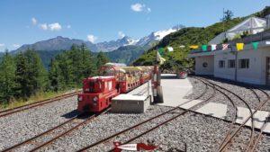 Le petit train panoramique de Verticalp: Les Montuires - Pied du barrage d'Emosson