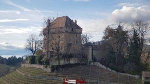 le château du Châtelard à Montreux