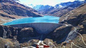 barrage de Moiry - hydroélectricité en suisse romande