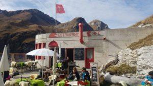 Le restaurant du barrage de Moiry