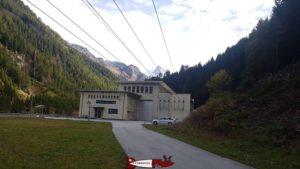 Usine de hydroélectrique de Mottec