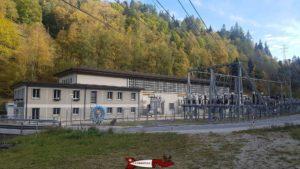 Usine de hydroélectrique de Vissoie