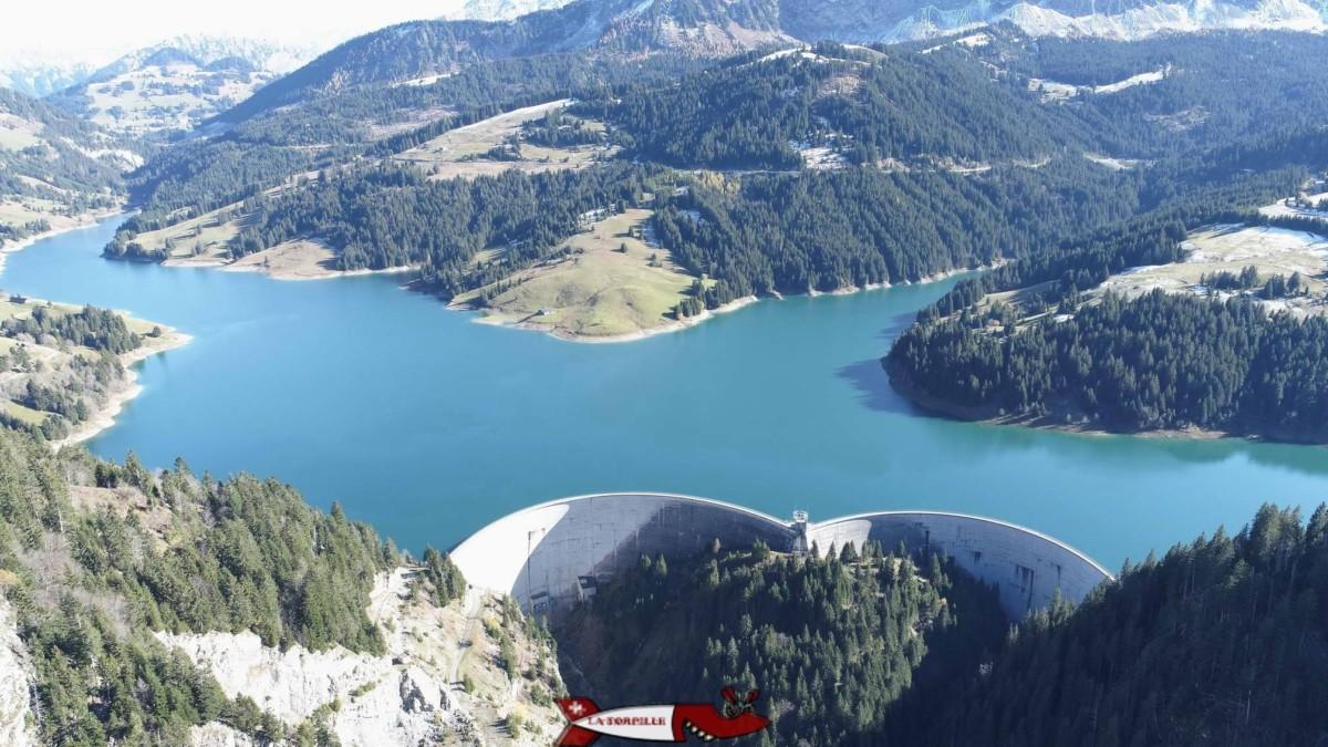 Le barrage de l'Hongrin