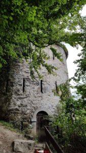 La tour Dufour au dessus du Fort Cindey