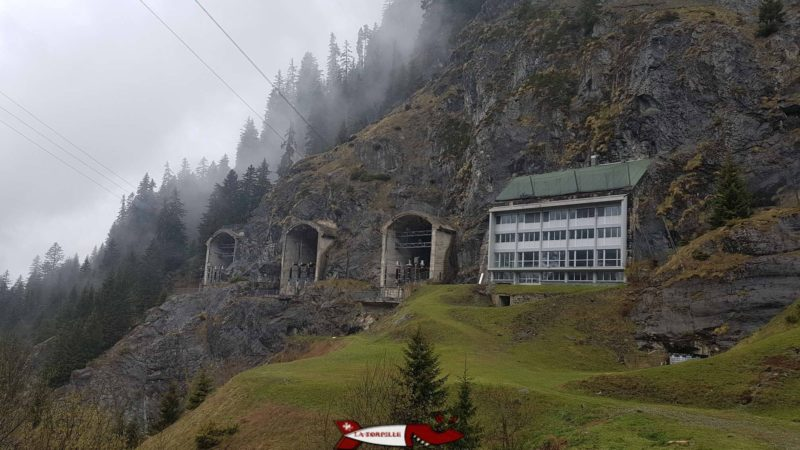 usine souterraine de Fionnay - barrage de la grande dixence