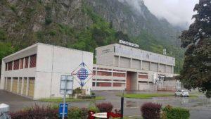 Usine de hydroélectrique de La Batiaz