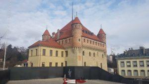 le château Saint-Maire à Lausanne