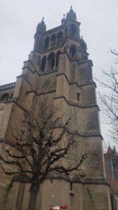 Le beffroi de la cathédrale de Lausanne