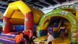château gonflable à l'espace junior Aigle