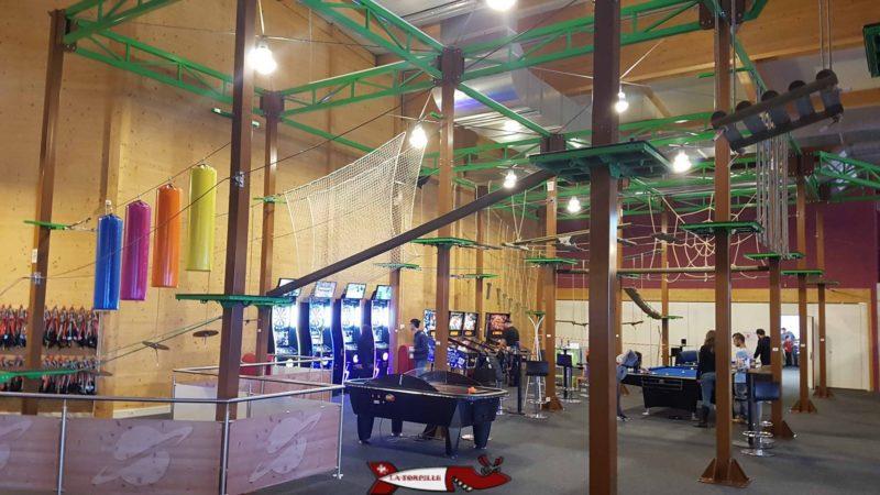 Les ateliers de l'accrofun au fun planet rennaz