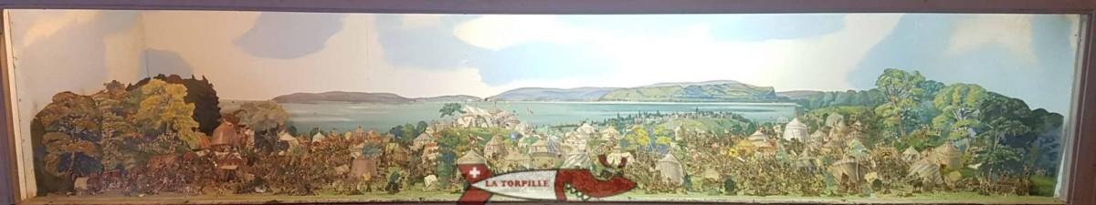Bataille de Morat au château de Grandson - Château de Suisse Romande