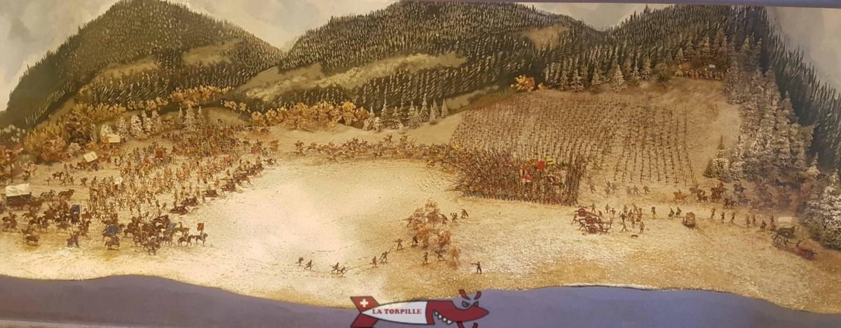 Bataille de Grandson au château de Grandson - Château de Suisse Romande