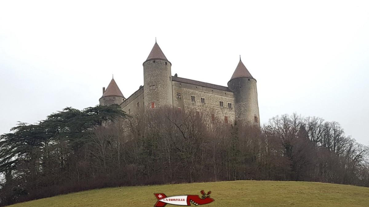 Le château de Champvent près d'Yverdon.
