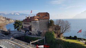 le château de Glérolles à Saint-Saphorin