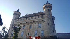 Vue côté Est du château de Vufflens