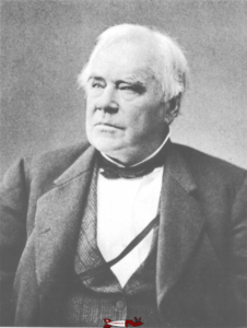 Photo of James Francis, inventor of Francis turbines - hydroelectricity in French-speaking Switzerland