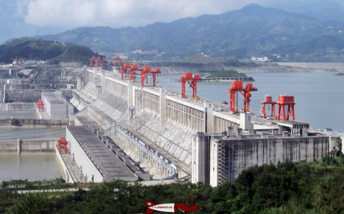 le barrage des trois gorges