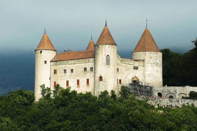 Le château de Champvent