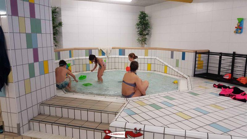 L'espace pour les touts petits aux bains thermaux d'Ovronnaz