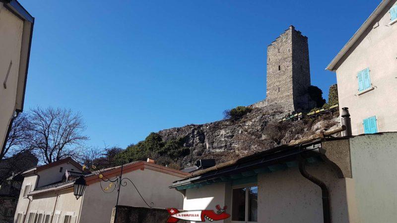 la tour du Chien du château de la majorie