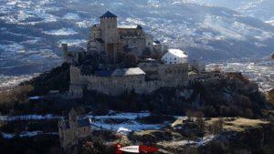 le château de Valère à Sion