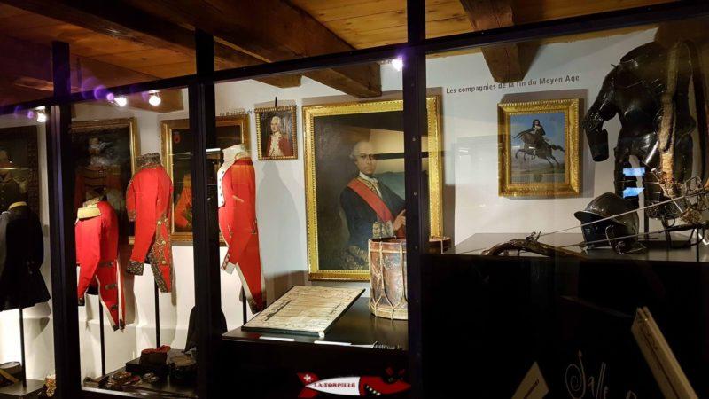 Le Musée d'histoire du Valais dans l'enceinte de Valère. Il fournit beaucoup d'informations sur l'histoire du canton à l'aide de nombreux objets.