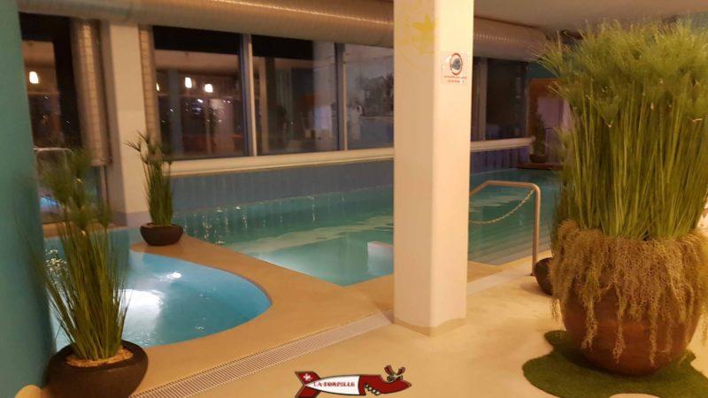 la piscine de la zone parardis d'aquaparc