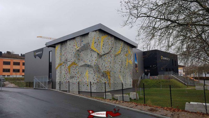 Le mur extérieur de Rocspot