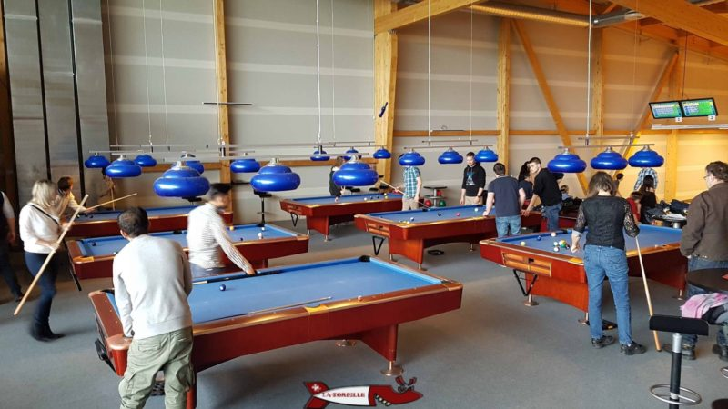 tables de Billard du fun planet bulle
