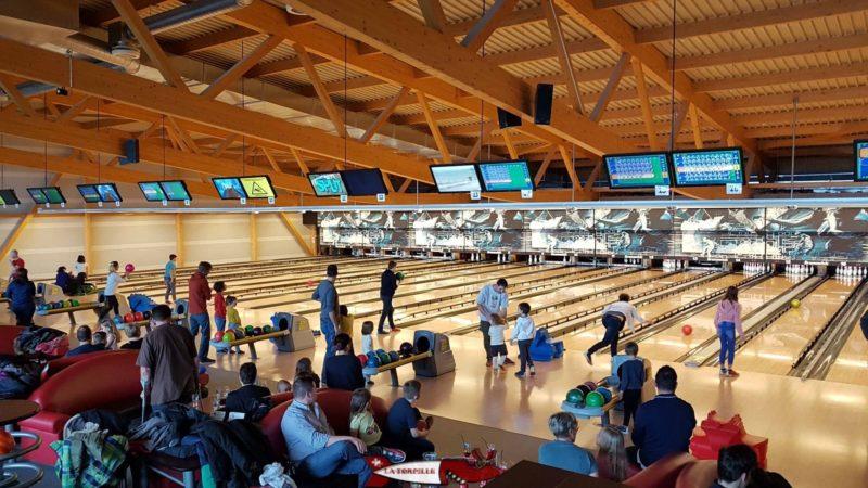 Le bowling du FunPlanet Bulle.