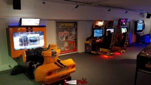 Jeux d'arcade au fun planet bulle