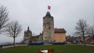 le château d'Orbe
