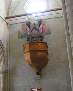 L'orgue de la basilique de Valère - musée suisse de l'orgue